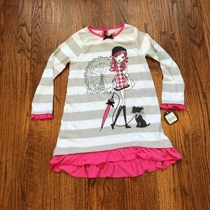 PETIT LEM*PJ Pajama Nightgown Dress**Size 4
